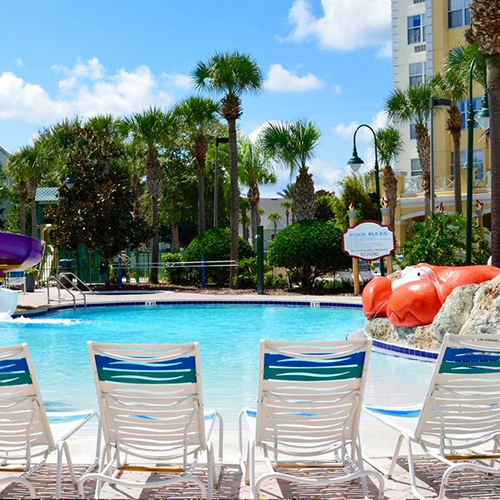 4 days and 3 nights stay at hotel Holyday Inn Express at Calypso Cay Resort.